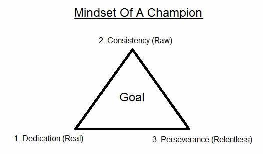 Mindset Of A Champion